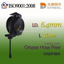 I.D. 6.4mm L 10m DTGOF-6810 large size grease hose reel hookah hose