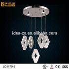 LD1170 outdoor modern pendant lighting, rh chandelier, crystal light frame
