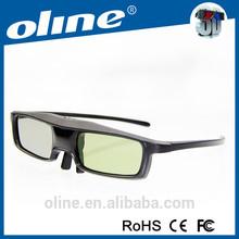 Glasses for JVC PKEM2G, PK-AG3G 3D, Epson 3020, 3030, 5020, 6030UB etc