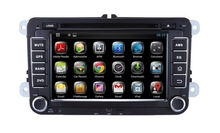 2 Din Android 4.4 Rockchip A9 dual-core Car audio System Car Dvd radio with Gps navigation for VW Tiguan/ Passat/ Golf 6/ Jetta