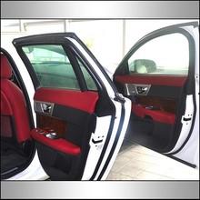 Custom design genuine leather replacement door trim (ZP002)