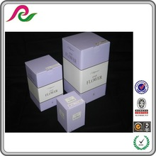 perfume /Olive Oil /shampoo comestic packaging box