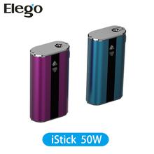 Alibaba Hot Seller Original Ismoka Eleaf Istick 50W With Eleaf Ismoka 50W VV/VW Battery