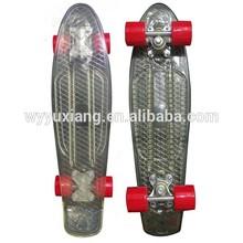 PC skateboard colorful transparent complete skateboard penny skateboards