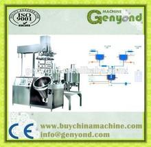 High efficiency vacuum emulsifying mixer / cream mixer