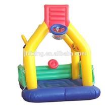 factory direct sales EN 71 pvc inflatable basketball hoop