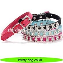 Pretty crystals swarovski dog collar