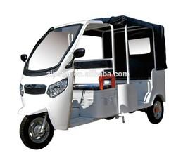 Bajaj electric three wheel passenger motorcycle