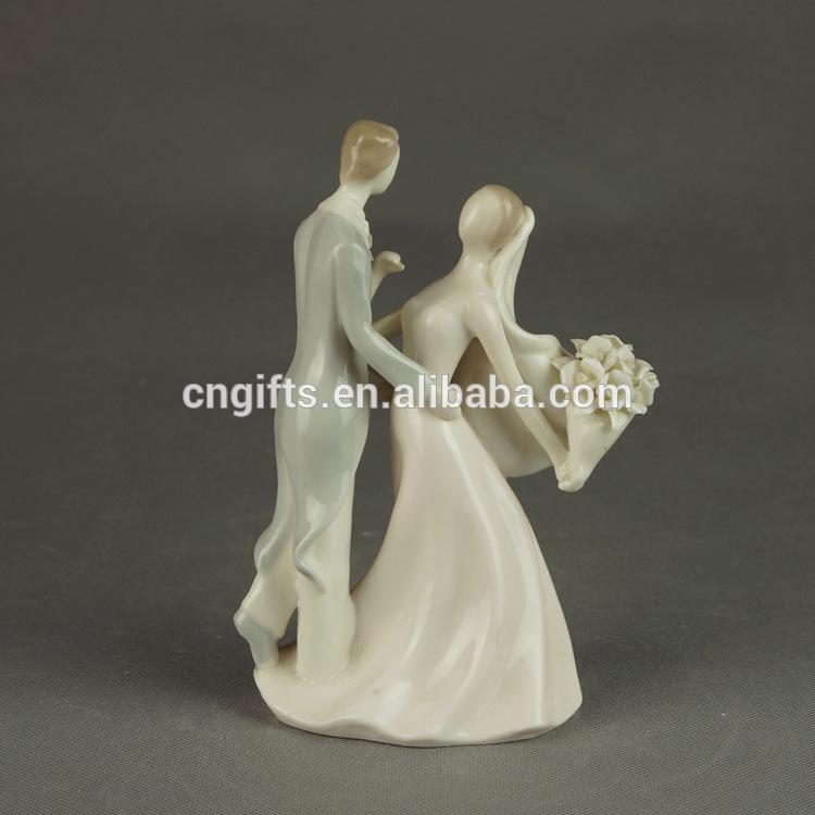 Ceramic Bride And Groom Figurine Bride And Groom Ceramic