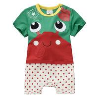 Organic cotton baby climb clothes China's brand children's clothes Children's clothing wholesale