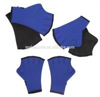 Water aerobics Aqua Jogger swimming swim webbed neoprene GLOVES
