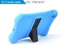 Custom design high quality tablet silicone case for iPad mini