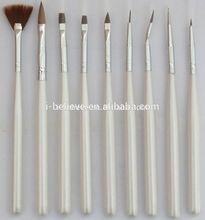 acrylic nail brush top quality nylon hair nail art gel brush