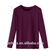2015 Fashion long sleeve cotton custom sport t-shirt factory price