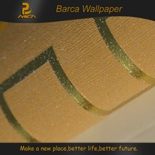 Gold 3d new designer elegant and durable decorative wallpaper