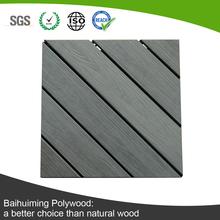 Varity Assembled Pattern Anti-skid Wood Plastic Floor for Construction