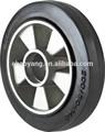 2015 buena venta noblift mano carro de plataforma de goma de la rueda 200*50mm