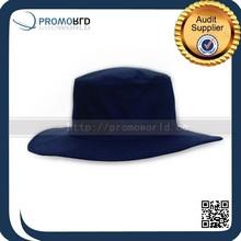 Black Bucket Hat Polo Cotton Bucket Hat