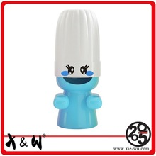 Guangzhou Colorful Lovely Plastic Covered Toothbrush Holder