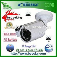 2015 Hot Selling & High Quality IP66 Weatherproof IR Bullet Camera cctv camera case