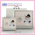 Caldo di vendita 10*10 h&b, 12*12 nozze libro fotografico album, foto album di nozze