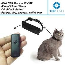 Toplovo Factory TL007 GPS tracker for cat ,cat gps tracker