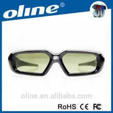 New Ultra Light Active Shutter 3D Glasses for 1080P 3D Movies Home Cinema Black