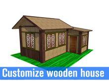 luxury and beautiful modular ready made house with wood siding / house with wood sidings bulgaria