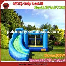 jumping castles giant water slide/ hippo inflatable water slide/ inflatable water slide