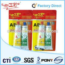Dry Crystal Clear AB Glue Epoxy Resin