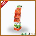 Pagamento da ásia china alibaba caixa de chocolate, papelão display stand com 4- camada de chocolate