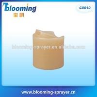 printed mouth cap Sealing Type and Screen Printing plastic jars flip top lids