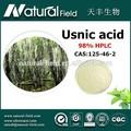 Oem bem-vindo melhor efeito de alta pureza usnic ácido 98% lichen usnea extrato