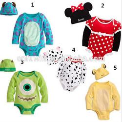 Organic cotton baby bodysuit anima wholesale baby romper