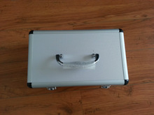 silver aluminum hand tool case export to Japan