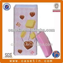 square tins/popcorn tins wholesale/cookie tins wholesale