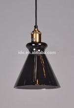 Top quality project traditional art vintage rh loft metal pendant lamp