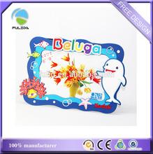 factory price custom corporate brand souvenir soft pvc desk photo frame