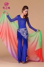 Belly dance veils Half circle veils Belly dance tencel veils P-9044#