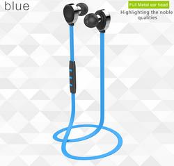 EJ00032 high quality fashion metal earphone with mic bluetooth headset