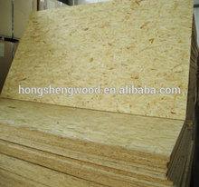 high quality 18mm poplar core waterproof osb board