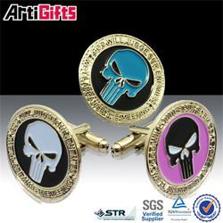 Custom sport metal ghana cufflinks for school