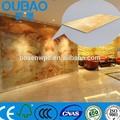 2015 nouveau produit faux pierre en plastique composite construction construction maison moderne décoration intérieure porcellanato carreaux