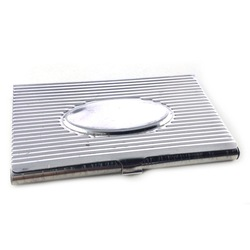 Custom metal tinplate box food grade large business card tin box