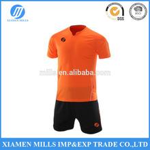 2015 BEST SELLING SUMMER SHORT SLEEVE team soccer uniforms kit