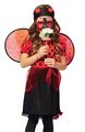 Las muchachas de la mariquita del traje / de la mariquita trajes / trajes de los niños