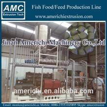 CE/ISO Extruded Aqua/fish/shrimp floating fish food machine