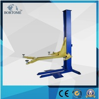 2.5t mobile single post car lifts with ce certificate