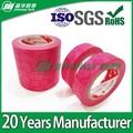De color rosa oscuro en forma de corazón DIY cinta de papel decorativo Japapese de papel