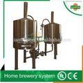 Proyecto / trigo / fruta / cebada / stout / oscuro / negro / amarillo de la cerveza planta de fabricación de